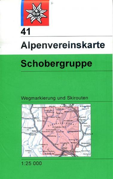 AV-41  Schobergruppe [2014] Alpenvereinskarte wandelkaart 9783928777124  AlpenVerein Alpenvereinskarten  Wandelkaarten Salzburg, Karinthië, Tauern, Stiermarken