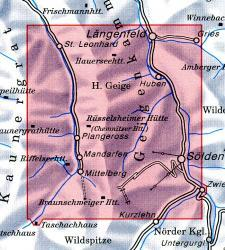 AV-30/5  Ötztaler A., Geigenkamm [2013] Alpenvereinskarte wandelkaart 9783928777445  AlpenVerein Alpenvereinskarten  Wandelkaarten Tirol & Vorarlberg