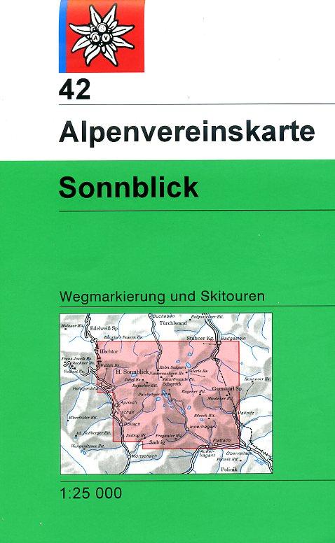 AV-42 Sonnblick [2013] Alpenvereinskarte wandelkaart 9783928777773  AlpenVerein Alpenvereinskarten  Wandelkaarten Salzburg, Karinthië, Tauern, Stiermarken