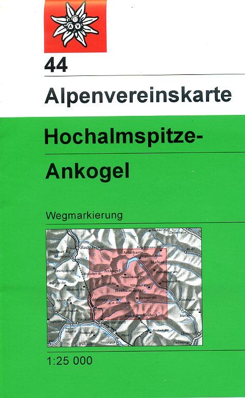 AV-44 Hochalmspitze - Ankogel [2018] Alpenvereinskarte wandelkaart 9783928777797  AlpenVerein Alpenvereinskarten  Wandelkaarten Salzburg, Karinthië, Tauern, Stiermarken