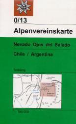 AV-0/13  Nevado Ojos del Salado [2004] Alpenvereinskarte wandelkaart 9783928777940  AlpenVerein Alpenvereinskarten  Wandelkaarten Chili