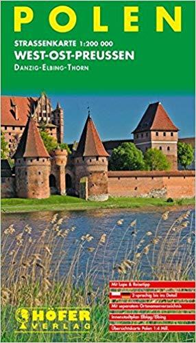 PL-011  West-Ostpreussen 1:200.000 9783931103200  Höfer Verlag   Landkaarten en wegenkaarten Polen
