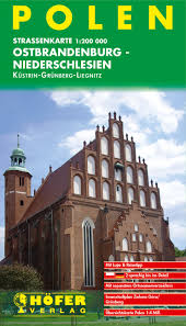 PL-002  Ostbrandenburg-Niederschlesien 1:200t. 9783931103859  Höfer Verlag   Landkaarten en wegenkaarten Polen