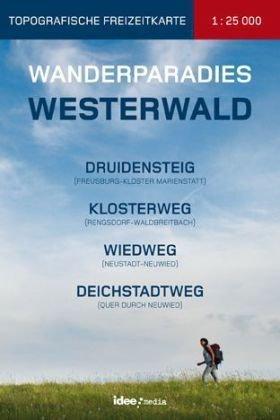 Wanderparadies Westerwald 9783934342651  Idee   Wandelgidsen, Wandelkaarten Mittelrhein, Loreley, Westerwald