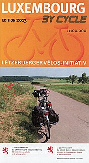Luxemburg by Cycle 1:100.000 9783936990553  Galli Verlag   Fietskaarten Luxemburg