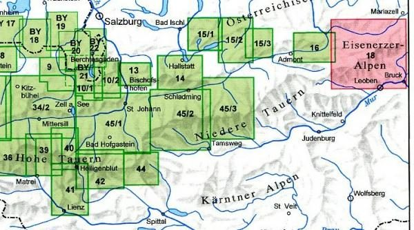 AV-18  Hochschwabgruppe [2013] Alpenvereinskarte wandelkaart 9783937530628  AlpenVerein Alpenvereinskarten  Wandelkaarten Wenen, Noord- en Oost-Oostenrijk