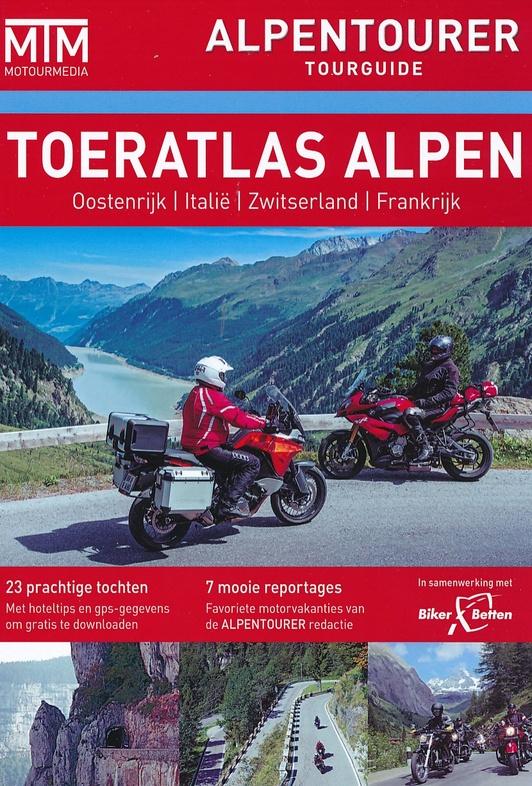 Toeratlas Alpen 9783939997221  Motourmedia Alpentourer Tourguides  Motorsport, Reisgidsen Zwitserland en Oostenrijk (en Alpen als geheel)