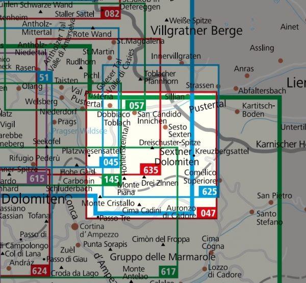 KP-047 Drei Zinnen / Tre Cime di Lavaredo | Kompass wandelkaart 9783990442753  Kompass Wandelkaarten Kompass Italië  Wandelkaarten Zuid-Tirol, Dolomieten