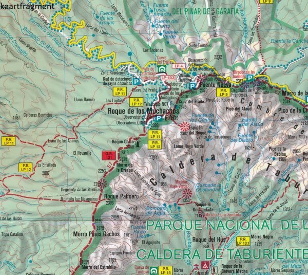 KP-232 La Palma   Kompass wandelkaart 9783990444832  Kompass Wandelkaarten   Landkaarten en wegenkaarten, Wandelkaarten La Palma