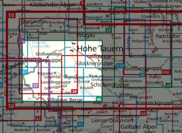 KP-46 Matrei (Osttirol)-Venedigergruppe | Kompass wandelkaart 9783990444931  Kompass Wandelkaarten Kompass Oostenrijk  Wandelkaarten Salzburg, Karinthië, Tauern, Stiermarken