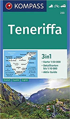 KP-233 Tenerife 1:50.000 | Kompass wandelkaart 9783990445686  Kompass Wandelkaarten   Landkaarten en wegenkaarten, Wandelkaarten Tenerife
