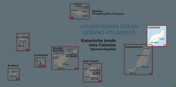 KP-241 Lanzarote   Kompass wandelkaart 9783990445693  Kompass Wandelkaarten   Landkaarten en wegenkaarten, Wandelkaarten Lanzarote