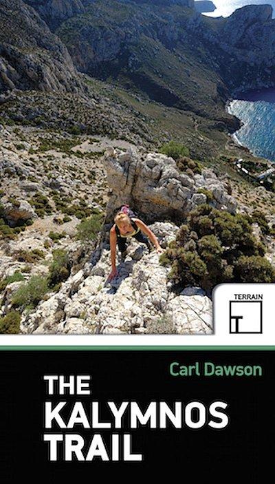 The Kalymnos Trail 9786185160012 Carl Dawson Terrain Maps Dodecanese Islands  Wandelgidsen Egeïsche Eilanden