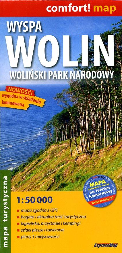 Wyspa Wolin | wandelkaart 1:50.000 9788360120545  ExpressMap   Wandelkaarten Polen