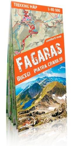 Fagaras Mountains | wandelkaart 1:80.000 9788361155133  TerraQuest   Wandelkaarten Roemenië, Moldavië