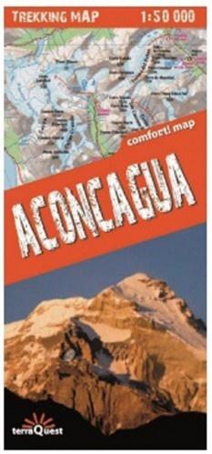 Aconcagua 1:50.000 9788361155379  TerraQuest   Wandelkaarten Argentinië