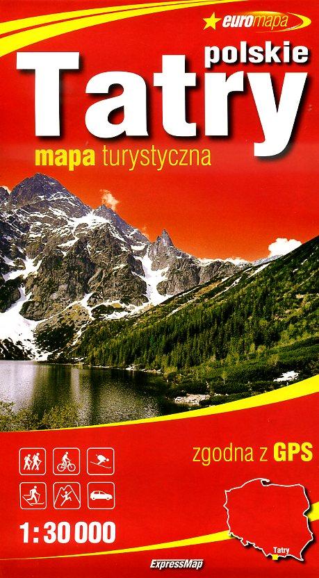 Tatry / Tatra (incl. Zakopane) | wandelkaart 1:30.000 9788375462685  ExpressMap   Wandelkaarten Polen