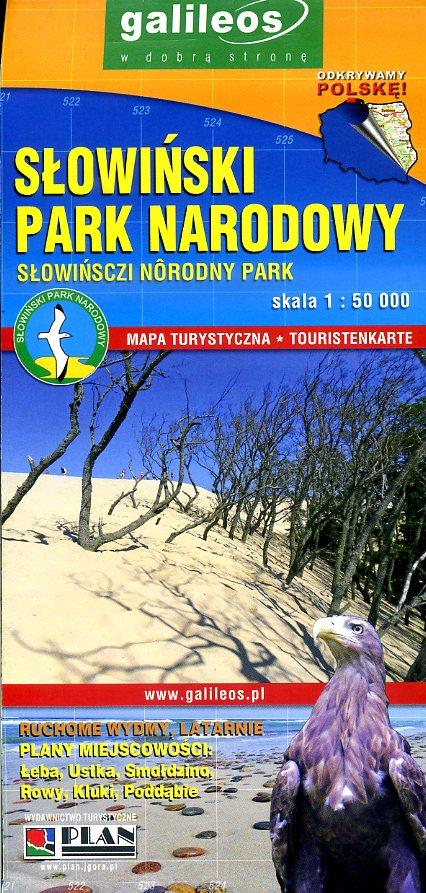 Slowinski Park Naradowy 1:100.000 9788378681564  Ppwk   Landkaarten en wegenkaarten Polen