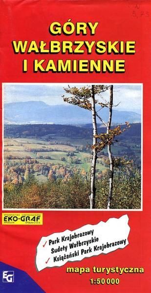 18 Gory Walbrzyskie i Kamienne | wandelkaart 1:75.000 9788386645510  Ppwk Mapy turystyczna  Wandelkaarten Polen