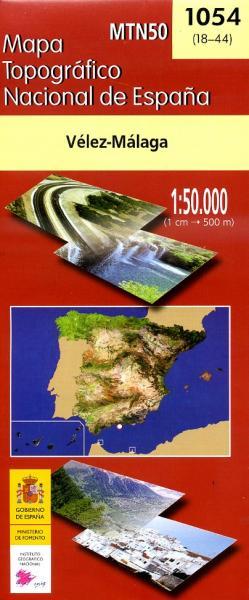 Hoja 1054 Velez-Malaga, Nerja 9788441607880  CNIG Spanje 1:50.000  Wandelkaarten Malaga
