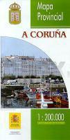 Prov.: A Coruña 1:200.000 9788441609662  CNIG Provinciekaarten Spanje  Landkaarten en wegenkaarten Noordwest-Spanje