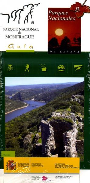 Parque Nacional de Monfrague 1:25.000 9788441609990  CNIG   Wandelkaarten Extremadura