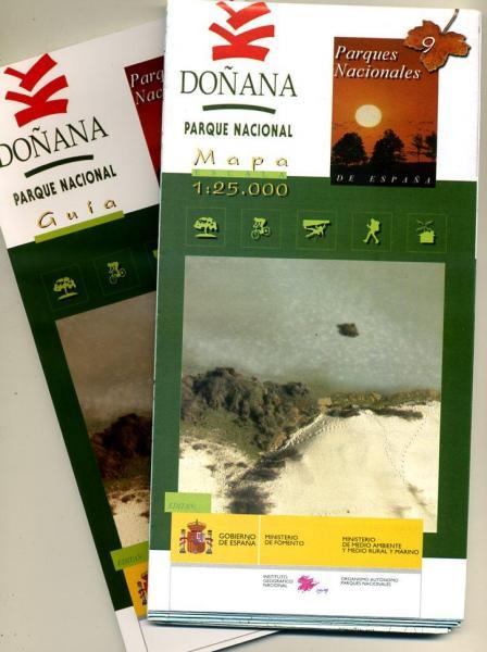 Doñana 1:25.000 9788441610590  CNIG Wandelkaarten Spanje  Wandelkaarten Andalusië