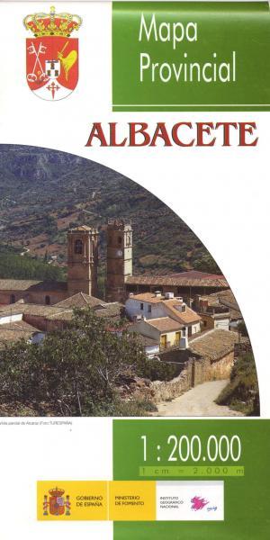 Prov.: Albacete 1:200.000 9788441611177  CNIG Provinciekaarten Spanje  Landkaarten en wegenkaarten Catalonië