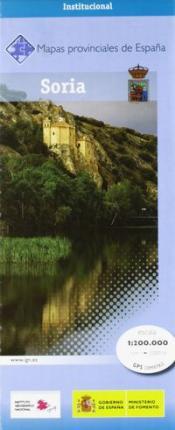 Prov.: Soria 1:200.000 9788441622838  CNIG Provinciekaarten Spanje  Landkaarten en wegenkaarten Noordwest-Spanje