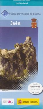 Prov.: Jaen 1:200.000 9788441622845  CNIG Provinciekaarten Spanje  Landkaarten en wegenkaarten Andalusië