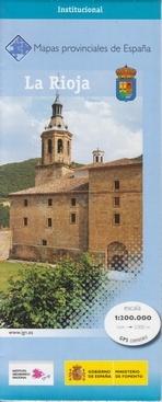 Prov.: La Rioja 1:200.000 9788441625051  CNIG Provinciekaarten Spanje  Landkaarten en wegenkaarten, Wijnreisgidsen Noordwest-Spanje