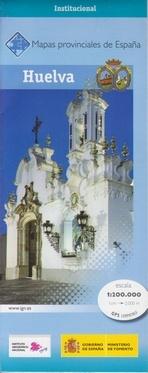 Prov.: Huelva 1:200.000 9788441625075  CNIG Provinciekaarten Spanje  Landkaarten en wegenkaarten Andalusië