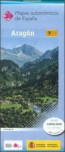 Aragon 1:300.000 9788441628069  CNIG   Landkaarten en wegenkaarten Catalonië