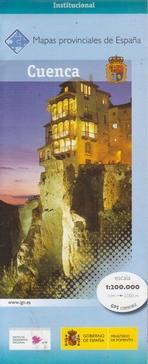 Prov.: Cuenca 1:200.000 9788441631731  CNIG Provinciekaarten Spanje  Landkaarten en wegenkaarten Castilië