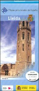 Prov.: Lleida 1:200.000 9788441632110  CNIG Provinciekaarten Spanje  Landkaarten en wegenkaarten Catalonië, Barcelona