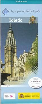 Prov.: Toledo 1:200.000 9788441634558  CNIG Provinciekaarten Spanje  Landkaarten en wegenkaarten Castilië