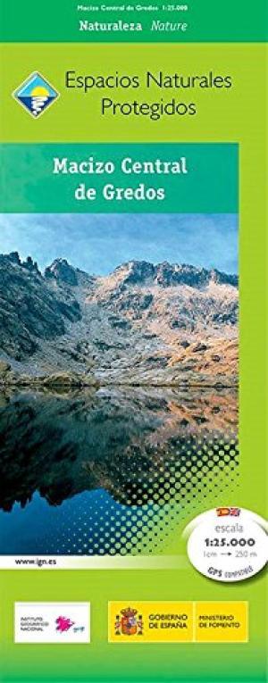 Sierra de Gredos - Macizo Central 1:25.000 9788441636002  CNIG   Wandelkaarten Castilië
