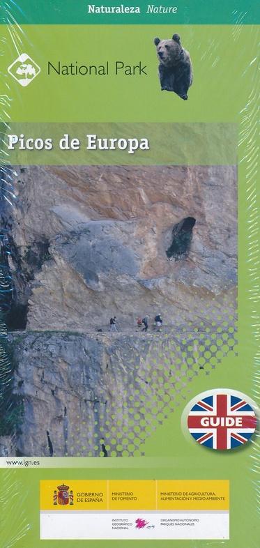 Picos de Europa 9788441637511  CNIG Wandelkaarten Spanje  Wandelgidsen, Wandelkaarten Noordwest-Spanje, Compostela, Picos de Europa