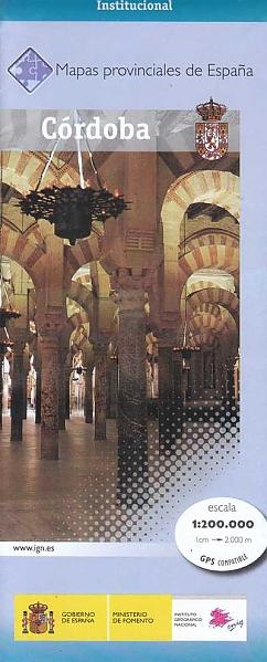 Prov.: Cordoba 1:200.000 9788441639232  CNIG Provinciekaarten Spanje  Landkaarten en wegenkaarten Andalusië