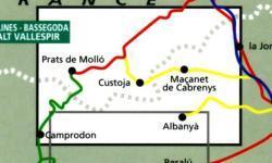 Salines-Bassegoda 1:50.000 9788480900614  Editorial Alpina Wandelkaarten Spaanse Pyreneeë  Wandelkaarten Spaanse Pyreneeën