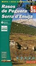 Rasos de Peguera 1:25.000 9788480901499  Editorial Alpina Wandelkaarten Spaanse Pyreneeë  Wandelkaarten Spaanse Pyreneeën