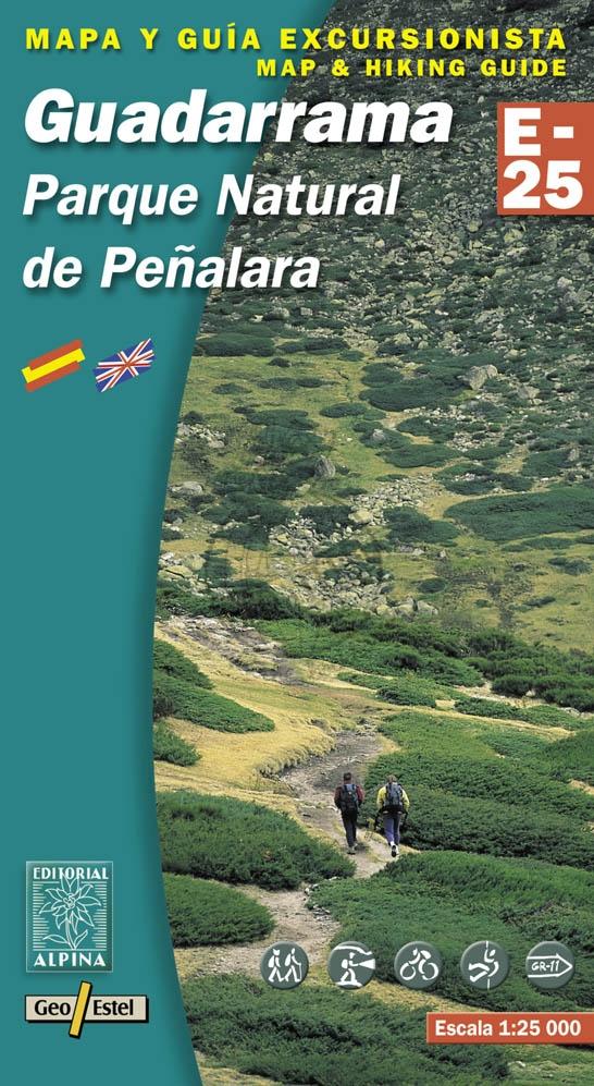 Guadarrama 1:25.000 9788480901598  Editorial Alpina Wandelkaarten Spanje  Wandelkaarten Castilië