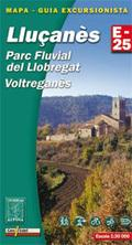 Lluçanes, Parc Fluvial Llobegrat 1:30.000 9788480904599  Editorial Alpina Wandelkaarten Spanje  Wandelkaarten Catalonië