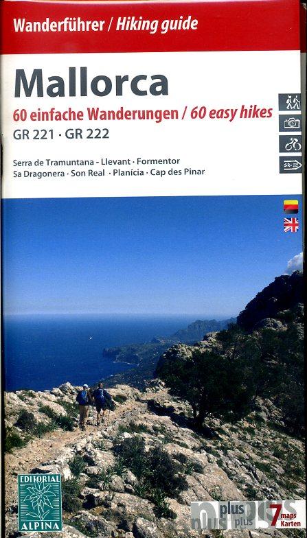 Wanderführer / Hiking Guide Mallorca 9788480905275  Editorial Alpina Wandelkaarten Spanje  Meerdaagse wandelroutes, Wandelgidsen Mallorca