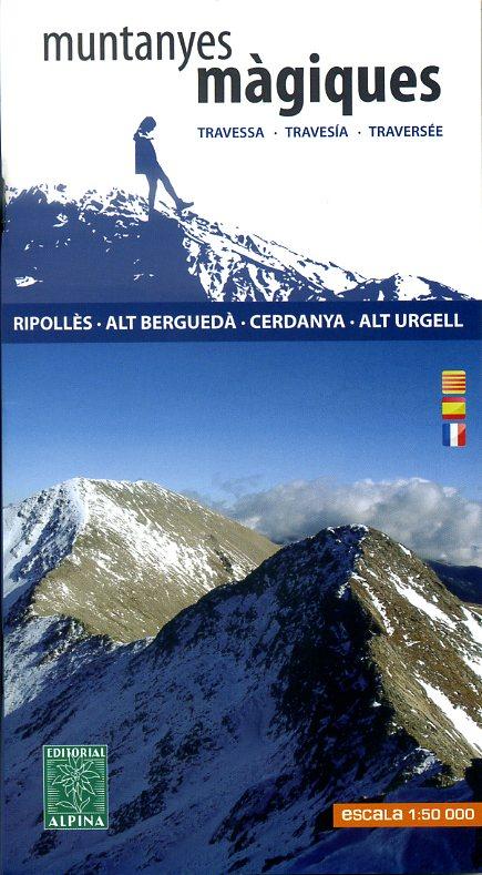 Ripolles-Cerdanya 1:50.000 9788480905329  Editorial Alpina Wandelkaarten Spaanse Pyreneeë  Wandelkaarten Spaanse Pyreneeën