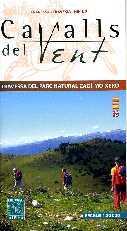 Cavalls del Vent - PN Cadi-Moixero 1:30.000 9788480905374  Editorial Alpina Wandelkaarten Spaanse Pyreneeë  Wandelkaarten Spaanse Pyreneeën