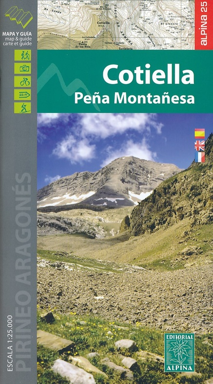 Cotiella 1:25.000 9788480906098  Editorial Alpina Wandelkaarten Spaanse Pyreneeë  Wandelkaarten Spaanse Pyreneeën