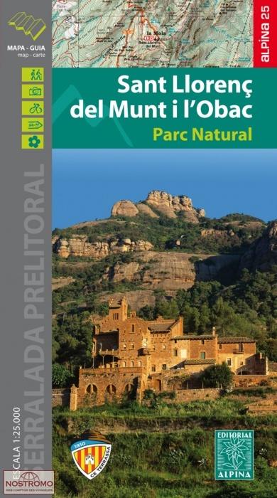 Sant Llorenç del Munt 1:25.000 9788480906302  Editorial Alpina Wandelkaarten Spaanse Pyreneeë  Wandelkaarten Spaanse Pyreneeën