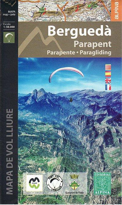 Bergueda 1:50.000 9788480906340  Editorial Alpina Wandelkaarten Spaanse Pyreneeë  Wandelkaarten Spaanse Pyreneeën