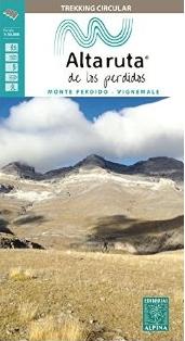 Alta Ruta de los Perdidos - Monte Perdido-Vignemale 1:25.000 9788480906548  Editorial Alpina Wandelkaarten Spaanse Pyreneeë  Meerdaagse wandelroutes, Wandelkaarten Spaanse Pyreneeën